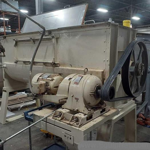 Used 60 CU. FT. RIBBON BLENDER - S/S - JACKETED - 15 HP