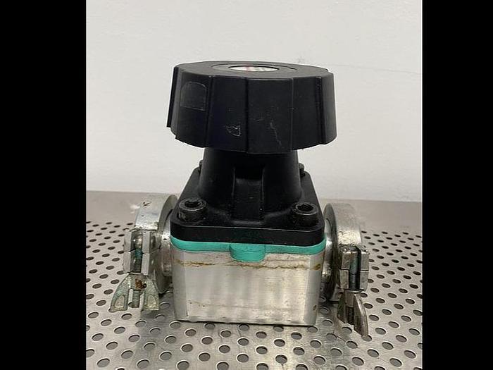 Used Edwards SP40K V 9Bar Speedivalve Diaphragm Valve w/ Gaskets and Clamps