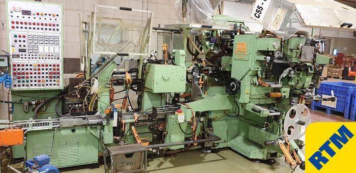 Item # 8165 - (2) x IMA C55 TEABAG MACHINES (available separately)
