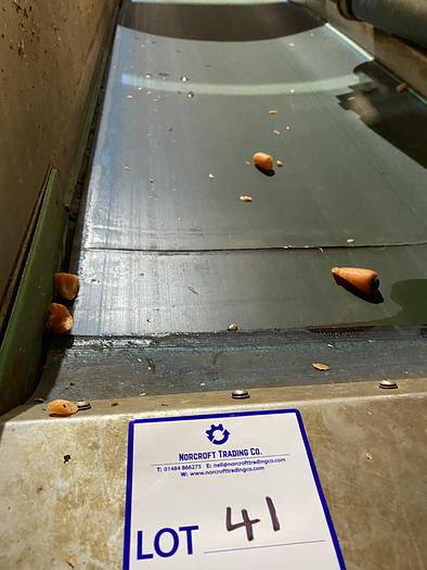 Used Stainless Steel Conveyor Belt 2m L 0.7m W