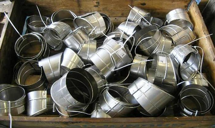 Used Stainless steel (1.4404 – 316L) pipe caps, 45°, 90° bends etc.
