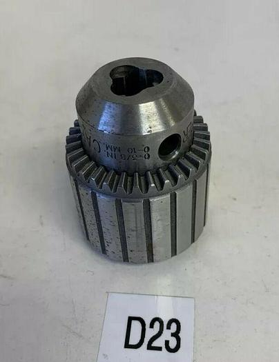 "Used Jacobs Chuck 2A 2 Taper Drill w/ 0-3/8"" Warranty! Fast Shipping!"