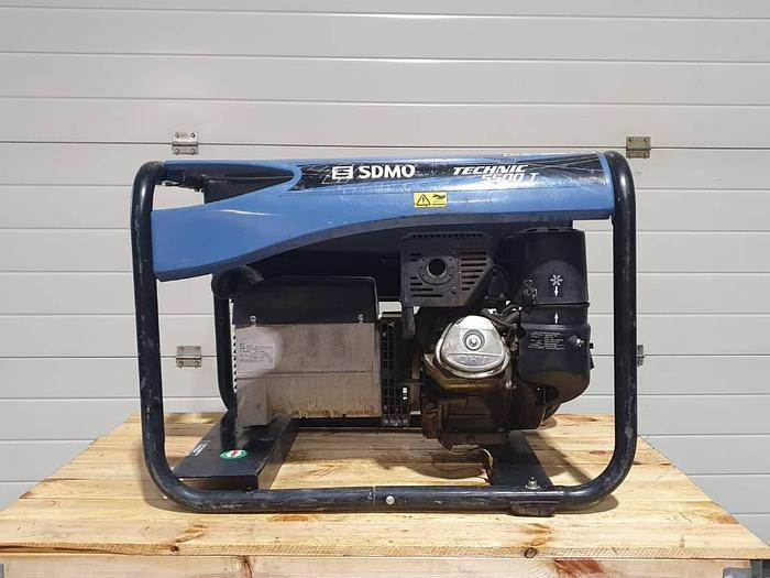 Gebruikt 2011 Sdmo 5500T met Kohler benzine motor