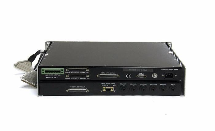 Used TMC DC-2000 Precision Valve Controller & Digital Controller REV E & Cable (4065)