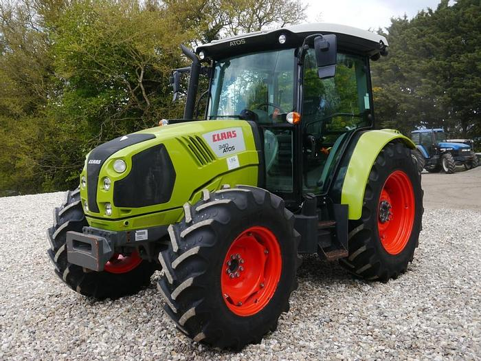 Used Claas Atos 340 4wd Tractor