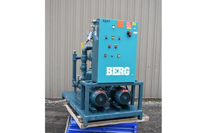 USED BERG PUMPING STATION, CARBON STEEL, 2.5 '' INLET & OUTLET
