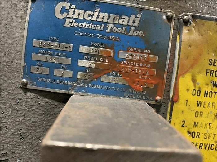 CINCINNATI 926-520-8 SPL GRINDER