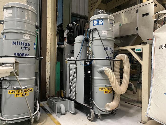 Used 2011 NILFISK 3508W L Industrial HEPA Vacuum