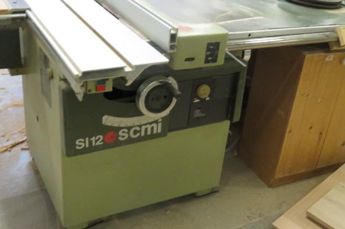 SCM Model SI 12 Sliding Table Saw
