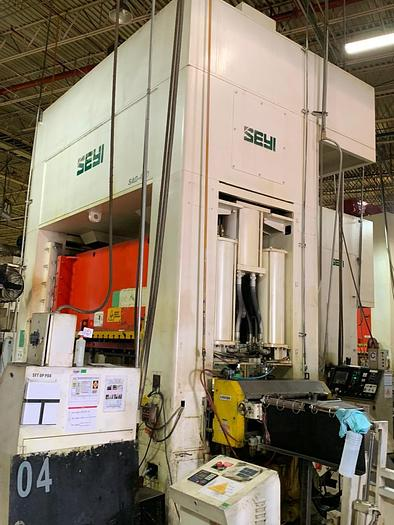 "Used 440 ton SEYI 122""x55"" SSDC Stamping Press"
