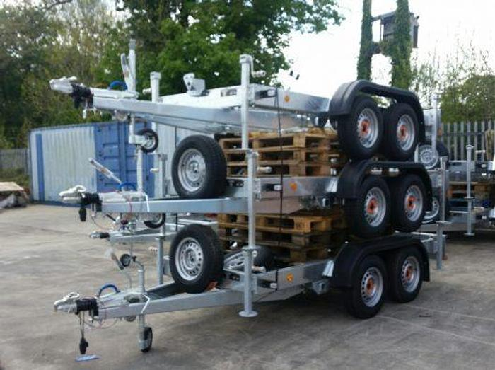 Used Knott Trailer Chassis for 2700kg Generator