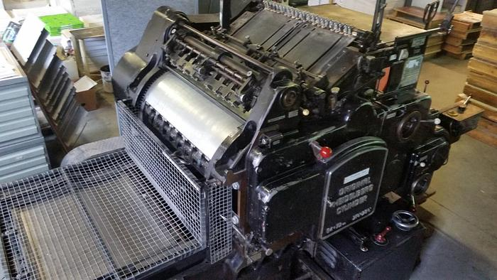 Heidelberg Cylinder 54x72