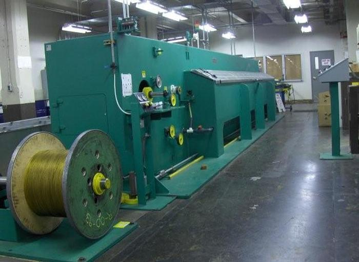 Used 30 Station Macbee Wet-Draw Precision Wire Drawing Machine