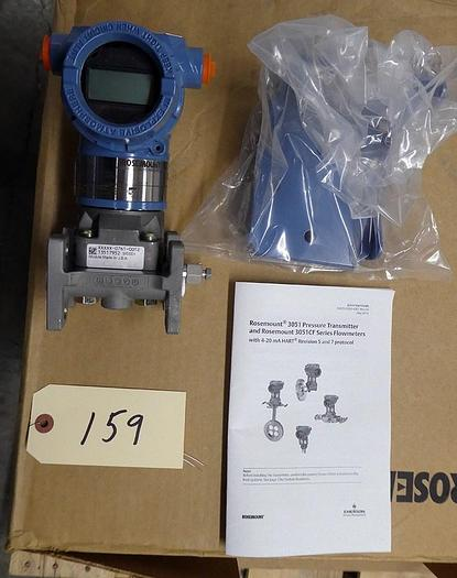 Used ROSEMOUNT 3051CG1A02A1AH2B1M5 PRESSURE TRANSMITTERS (EIGHT AVAILABLE)