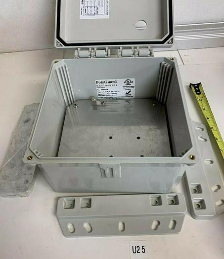 Used Industrial Control Poly Enclosure 9x9x4 Fast Shipping ~Warranty~