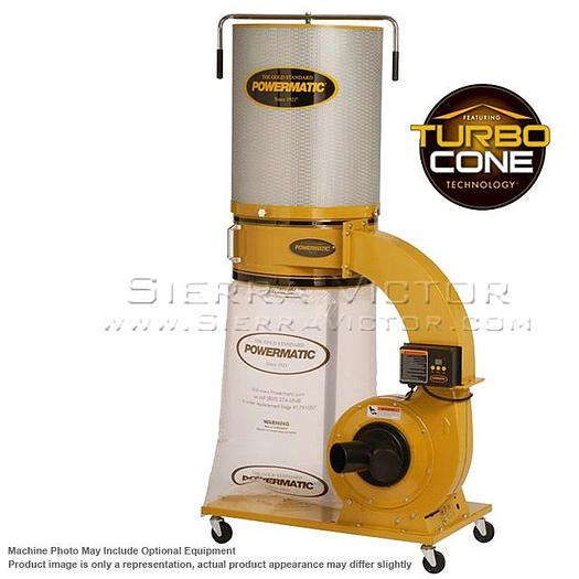 POWERMATIC PM1300TX-CK Dust Collector 1.75HP 1PH 115/230V, 2-Micron Canister Kit 1791079K