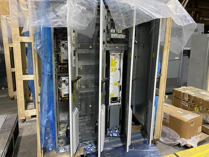 Used ABB DRIVE SYSTEM ACS880 (UNUSED NEW SURPLUS) MANUFACTURED 2018 SECTION 1 OF 4