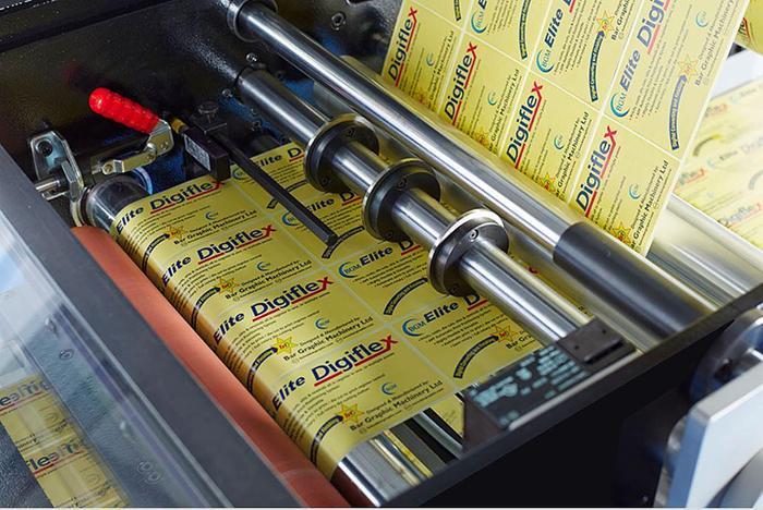 BGM Elite 410 / 450 iSR Label Inspection Slitter Rewinder