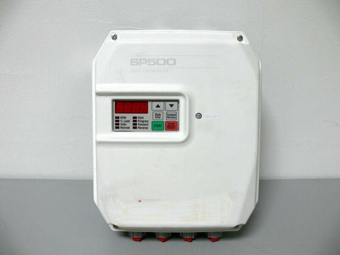 Used Reliance Electric SP500 Easy Clean Plus 7.5 HP VS Drive 1SU44007 VFD