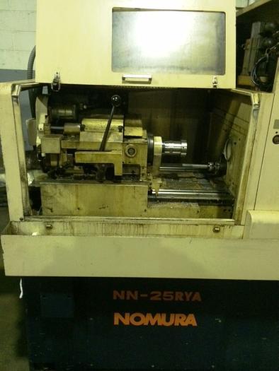 Nomura NN-25RYA Swiss Style CNC lathe