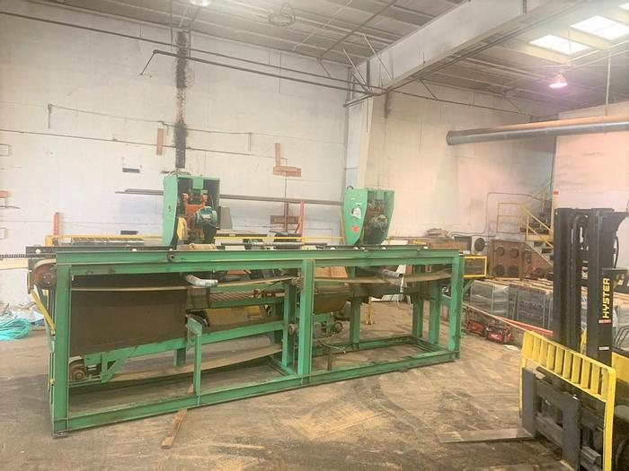 Used Double Hula Saw System