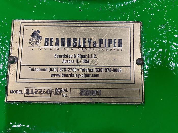 BEARDSLEY & PIPER  75B MULLER GEAR REDUCER
