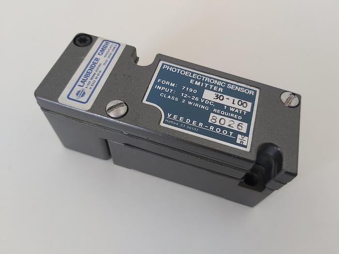 Photoelektronik Sensoren, 7190 20-100, Veeder & Root neu