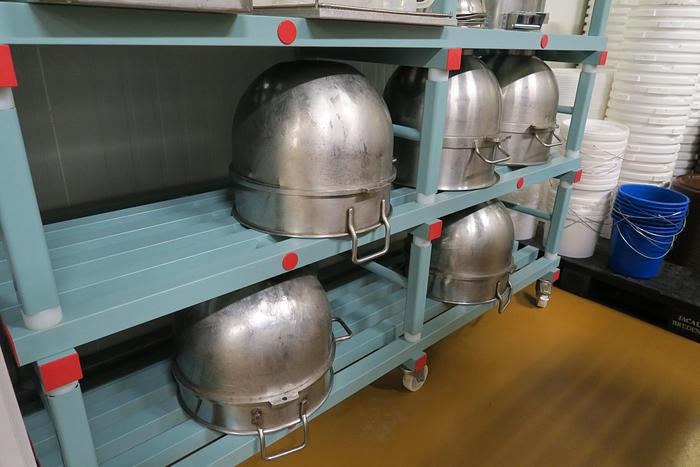 (2) Ooms Planetary Mixers