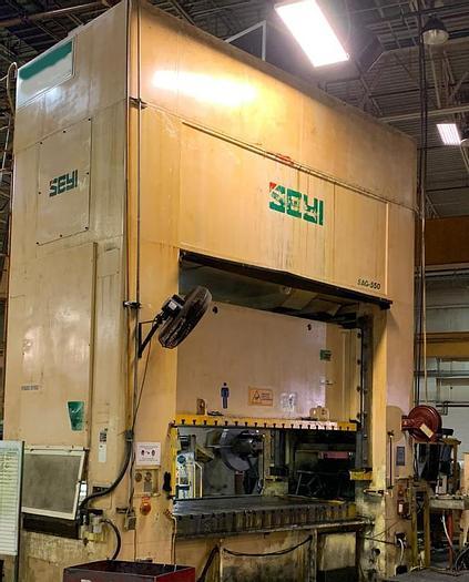 """Used 550 ton SEYI 122""""x61"""""""