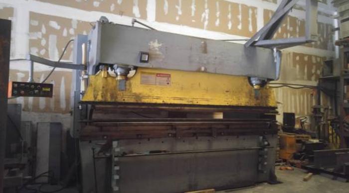 175 ton Atlantic hydraulic press brake