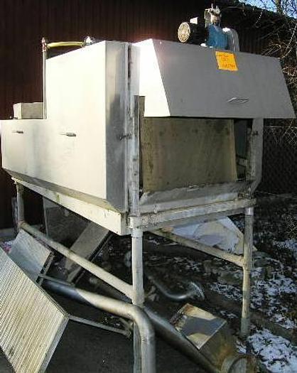 Used Krüger VL8 belt filter press. Including steering panel and sludge pump.