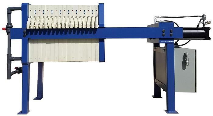 FP-050-1200-P: Filter Press 50 Cubic Feet 1200mm NCGR