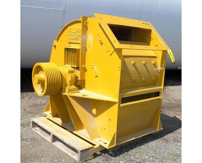 USED WILLIAMS HAMMER MILL, SWINGING HAMMERS, CARBON STEEL, 150 HP