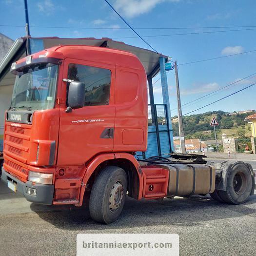 Used 1998 SCANIA R 124 L 400 manual retarder hydraulic kit