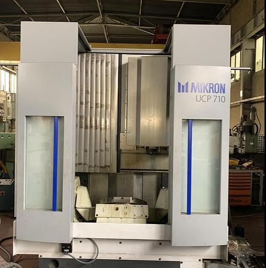Ottime 5 Axis Vertical Machining Center MIKRON UCP 710