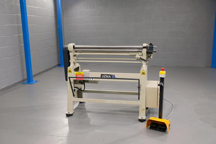 UZMA IR model small diameter Initial Pinch Power operated  Bending rollers