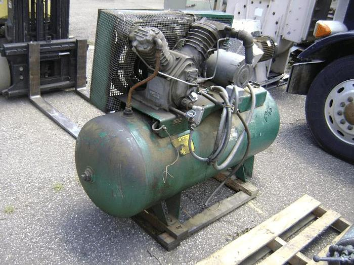 Used 10 HP INGERSOLL-RAND AIR COMPRESSOR – MODEL 2545 – #6966