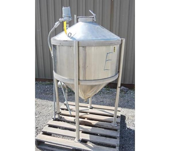 USED 80 GALLON TANK, STAINLESS STEEL