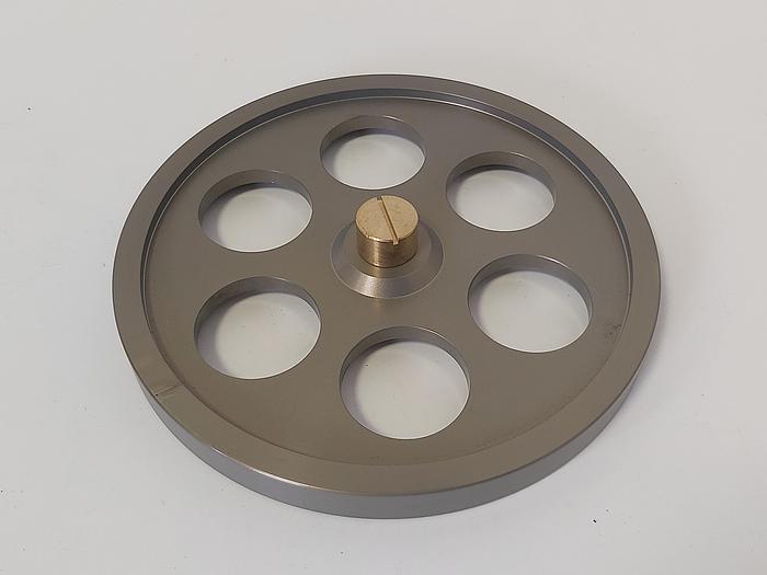 Messrad mit Spannzange, Alu eloxiert, MR 500, 500mm, ,  neu