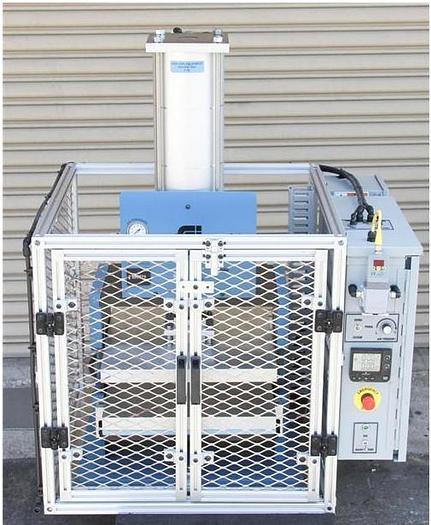 "Used Fancort Industries FA 5844 Heated Press 8.5"" x 8.5"" w Custom Cage & Wiring (4730"