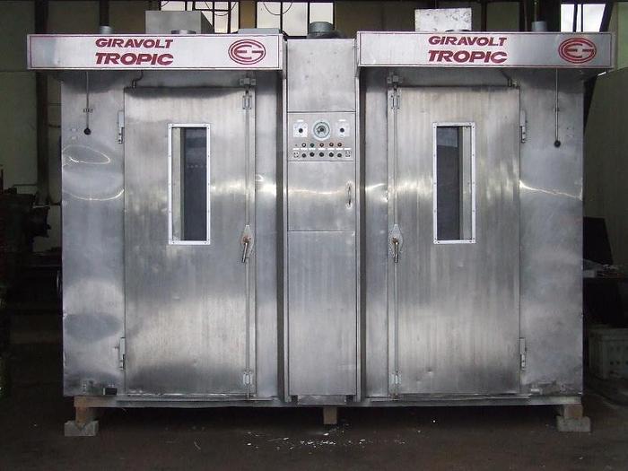 """Używane Piec piekarniczy 2-komorowy, elektryczny, obrotowy."""" GIRAVIOLT TROPIC"""", prod. hiszpańskiej"""