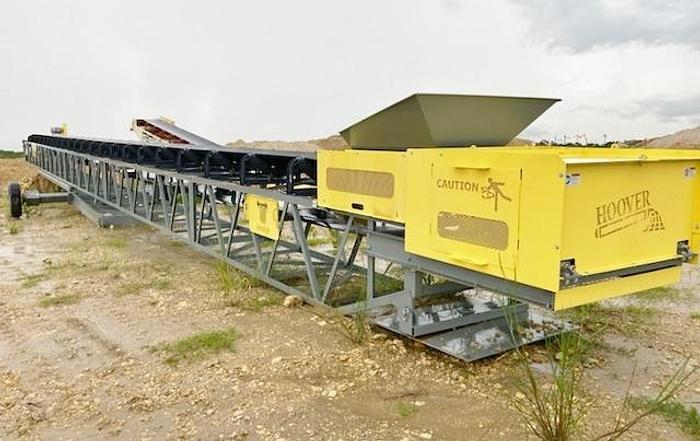 """Used 2021 Hoover 36"""" x 100' Radial Stacker"""