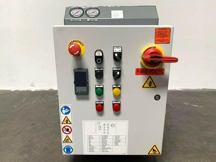 Used Mokon 18KW Oil Heater Circulator System 121C / 250°F 460V 3 Phase  *NEW*