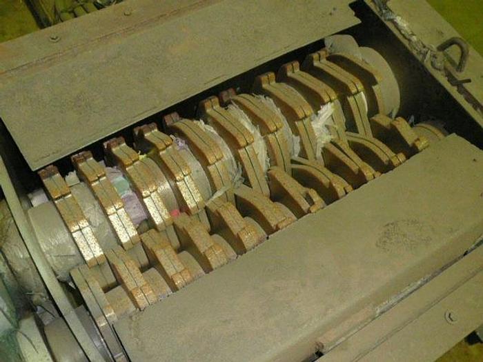Used Edial 100 HP dual shredder