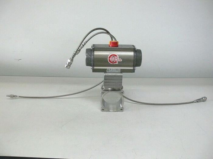 Used ABZ 130DA Pneumatic Actuator Valve 150 PSI Max