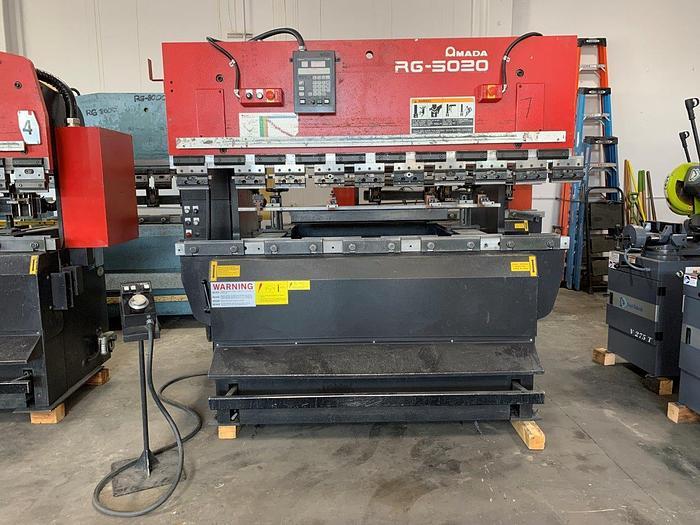 2005 55 Ton Amada RG-5020LD CNC Press Brake