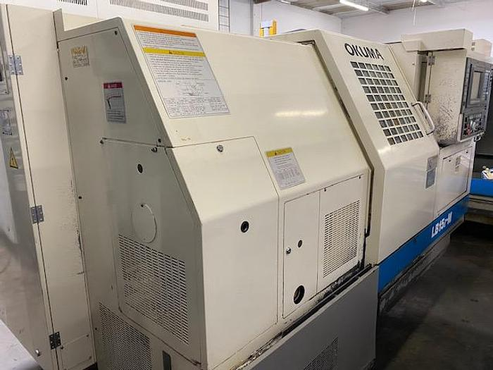 Used OKUMA LB15II-M CNC TURNING CENTER #5659