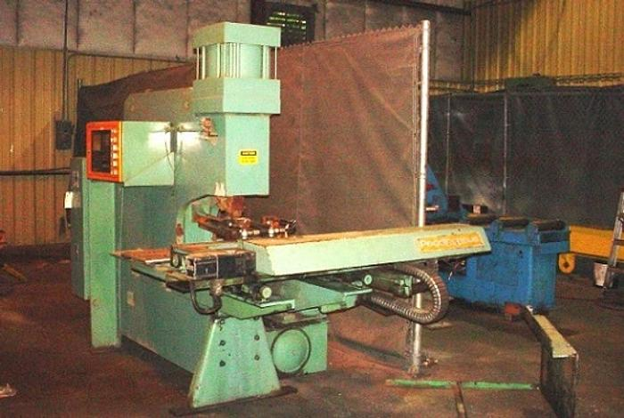 Used Peddinghaus C-Frame Plate Punch