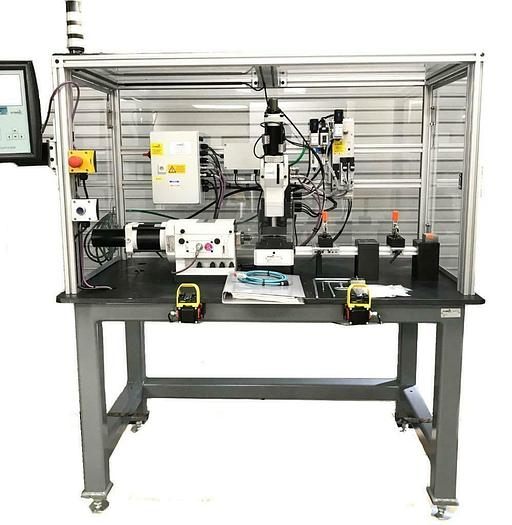 Used Schmidt Technologies Automated Toggle, Pneumatic Press System w/ Controller 7579