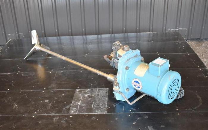 USED CHEMINEER, CLAMP-ON MIXER, 1 HP